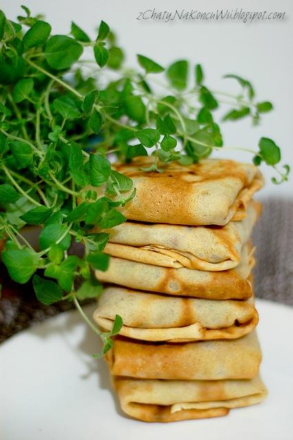krokiety z brokulami i szynka