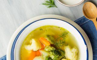 dla dzieci zupa jarzynowa